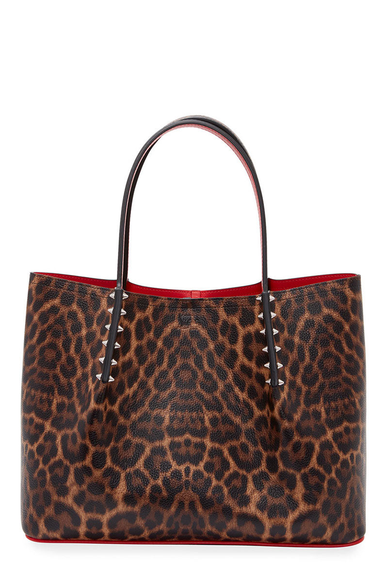 Large Leopard Cabarock Tote
