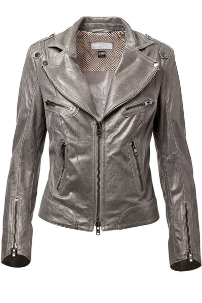 Oda Leather Moto Jacket