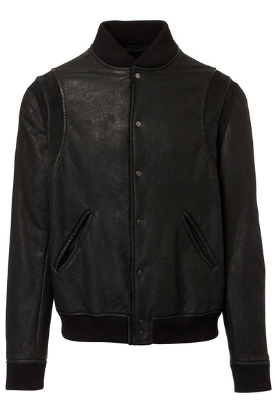 Salvatore Santoro, Leather Bomber Jacket