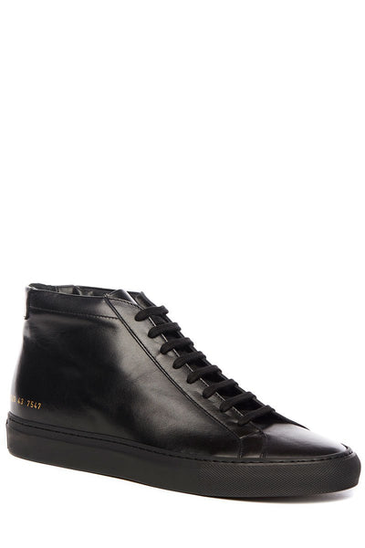 Common Projects, Original Achilles Leather Mid Sneakers