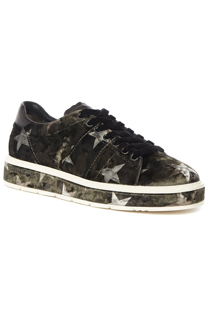 Big Star Velvet Sneakers