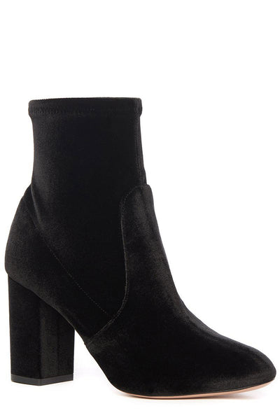 Aquazzura, So Me Velvet Booties