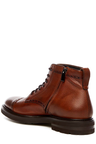 Henderson, Lace-Up Brogue Boots