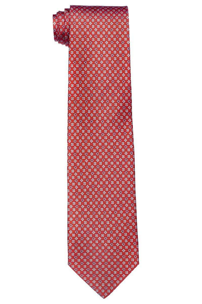 Gancio and Flower Printed Tie