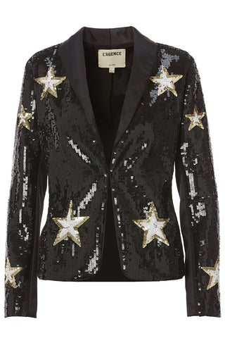 Donatello Star Embellished Blazer