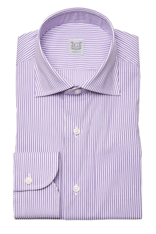 Grigio, Narrow Stripe Dress Shirt