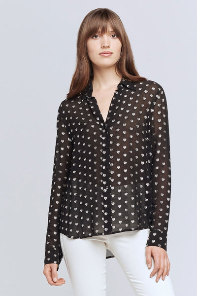 Hailie Heart Blouse
