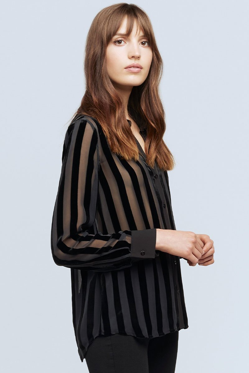 Hailie Striped Blouse