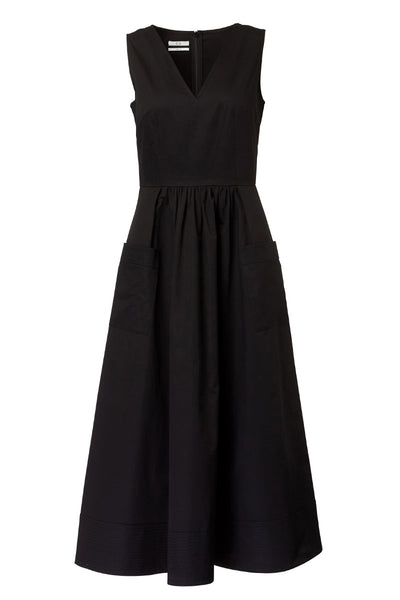 Co, Trapunto Hem Dress