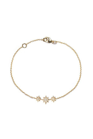 Aztec North Star Mini Bar Bracelet
