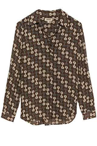 Nina Buckle Blouse