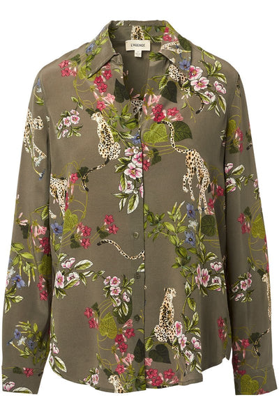 L'AGENCE, Nina Jungle Blouse