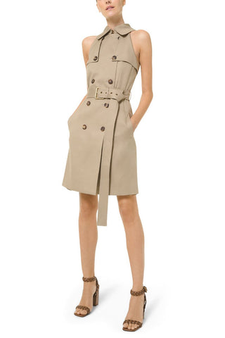Trench Sheath Dress