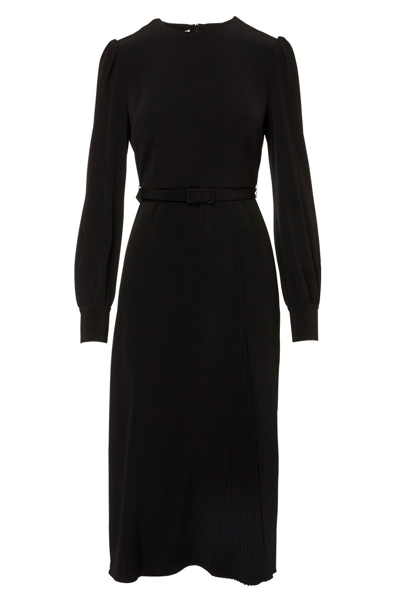 Co, Pleated Panel Dress