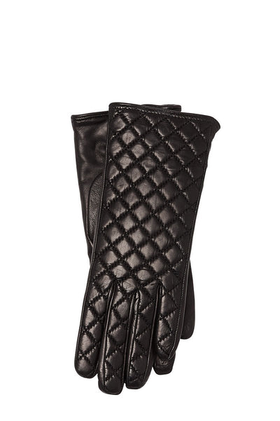 Guanti Giglio Fiorentino, Quilted Leather Gloves