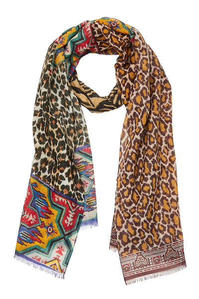 Pierre-Louis Mascia, Leopard Collage Scarf