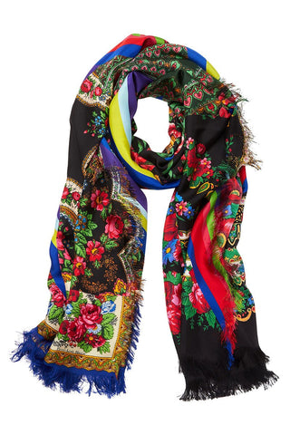 Pierre-Louis Mascia, Floral Collage Scarf