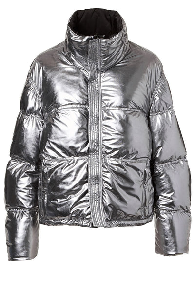 KRU, Reversible Metallic Puffer Coat