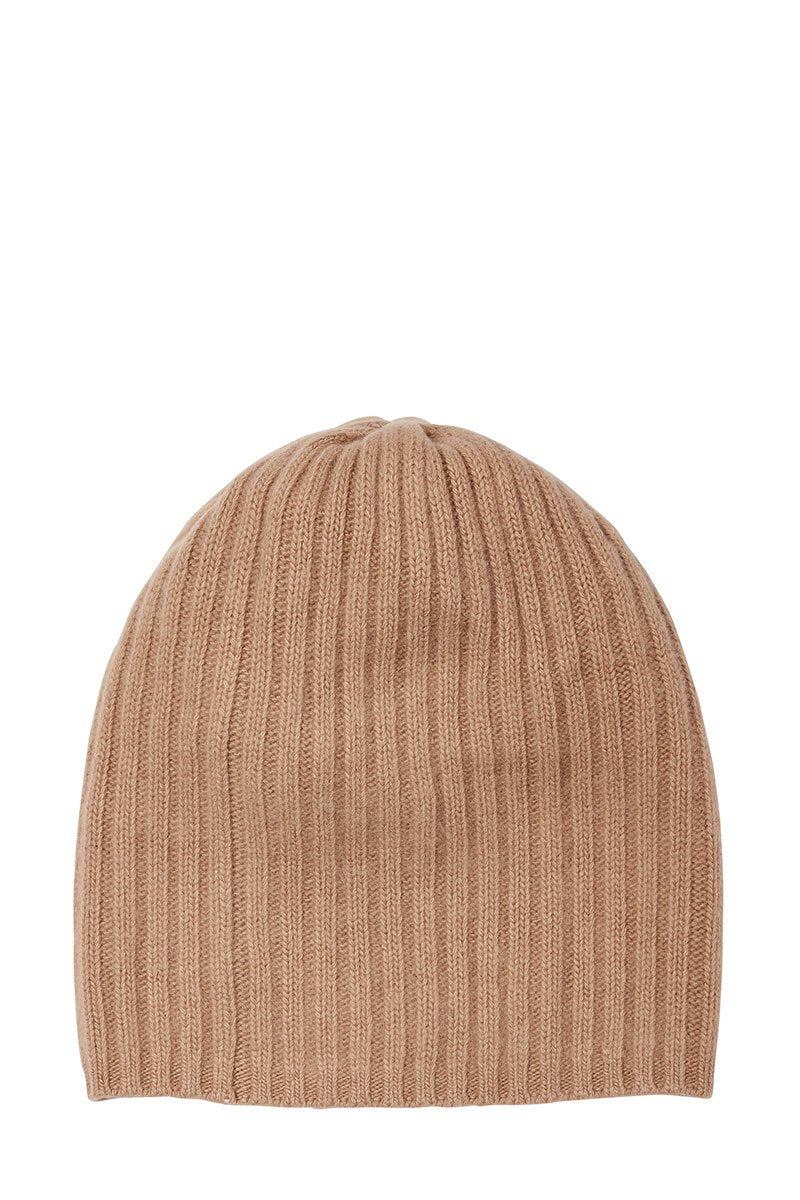 , Ribbed Cashmere Hat