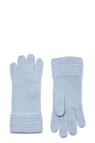 Cable-Knit Gloves