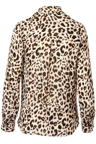 L'AGENCE, Mariposa Leopard Blouse
