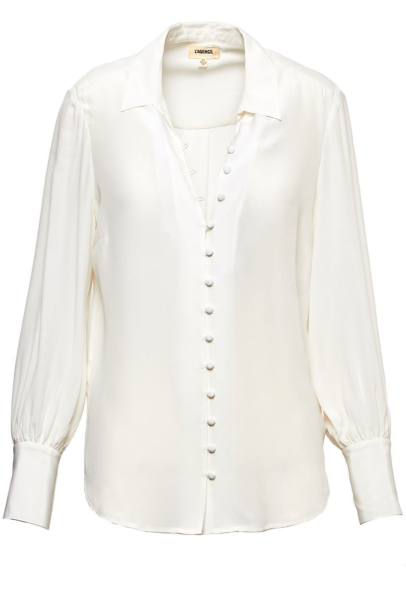 Naomi Button Loop Blouse