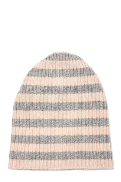 Stripe Ribbed Hat