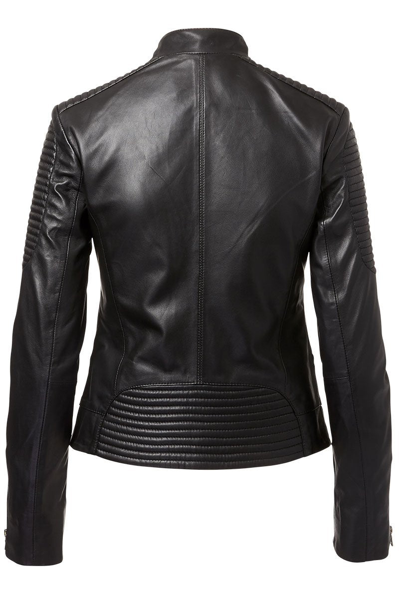 Schyia, Luca Leather Biker Jacket