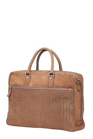 Dell'ga, Herringbone Briefcase