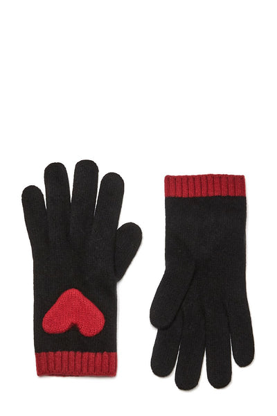 Heart Embroidered Gloves