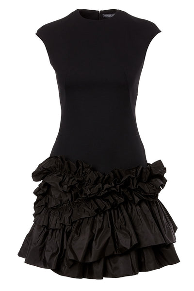 Ruffle Hem Dress