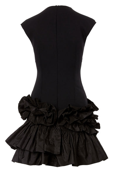 Alexander McQueen, Ruffle Hem Dress
