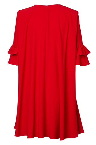Alexander McQueen, Cape Back Mini Dress