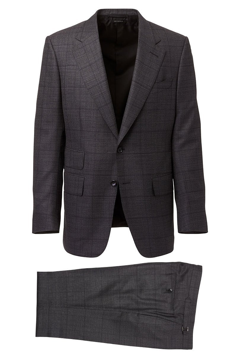 Windowpane Windsor Suit