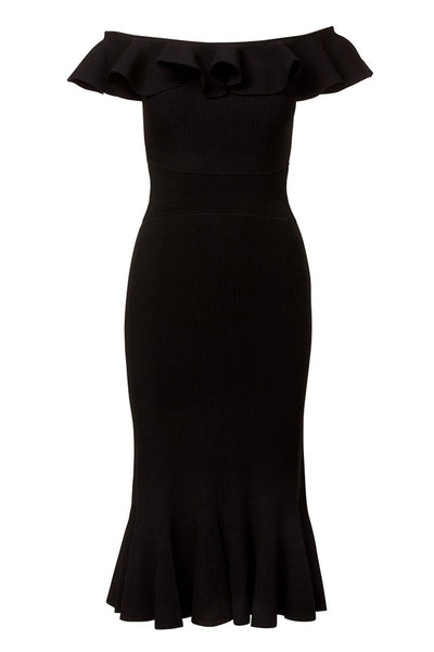 Alexander McQueen, Ruffle Neck Dress
