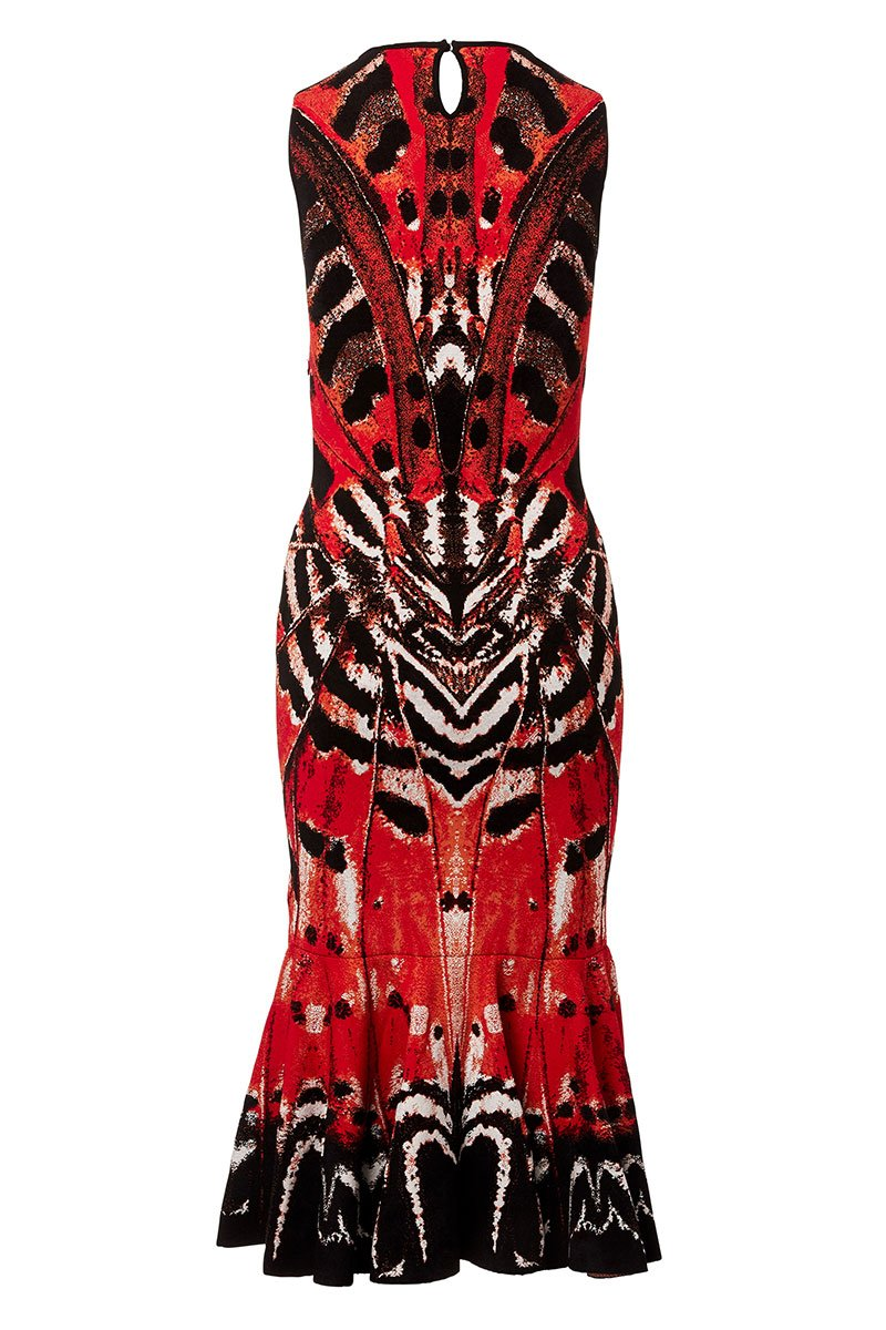 Alexander McQueen, Butterfly Jacquard Dress