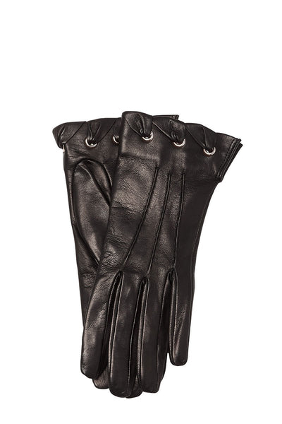 , Stitched Leather Gloves