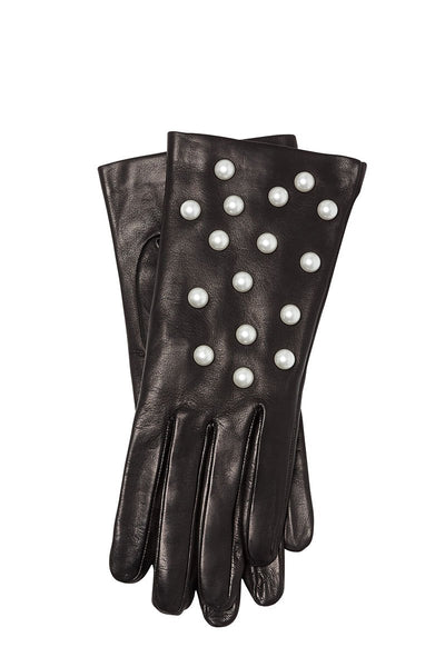 Guanti Giglio Fiorentino, Pearl Leather Gloves