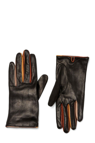 Guanti Giglio Fiorentino, Ombre Trim Leather Gloves