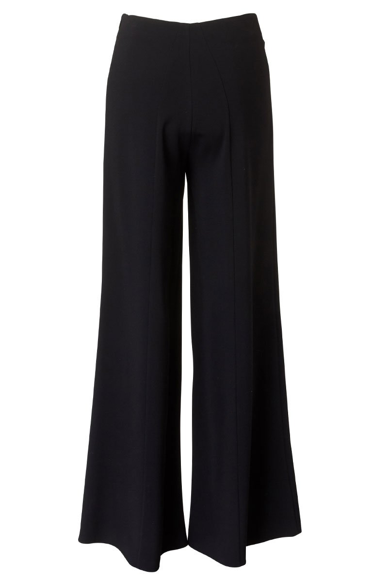 Co, Flared Wide Leg Trousers