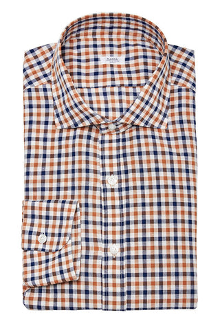 Barba, Checked Sportshirt