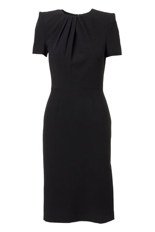 Alexander McQueen, Leaf Crepe Pencil Dress