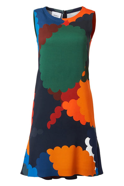 Memphis Nuvola Print Dress