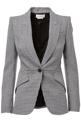 Alexander McQueen, Pieced Check Jacket