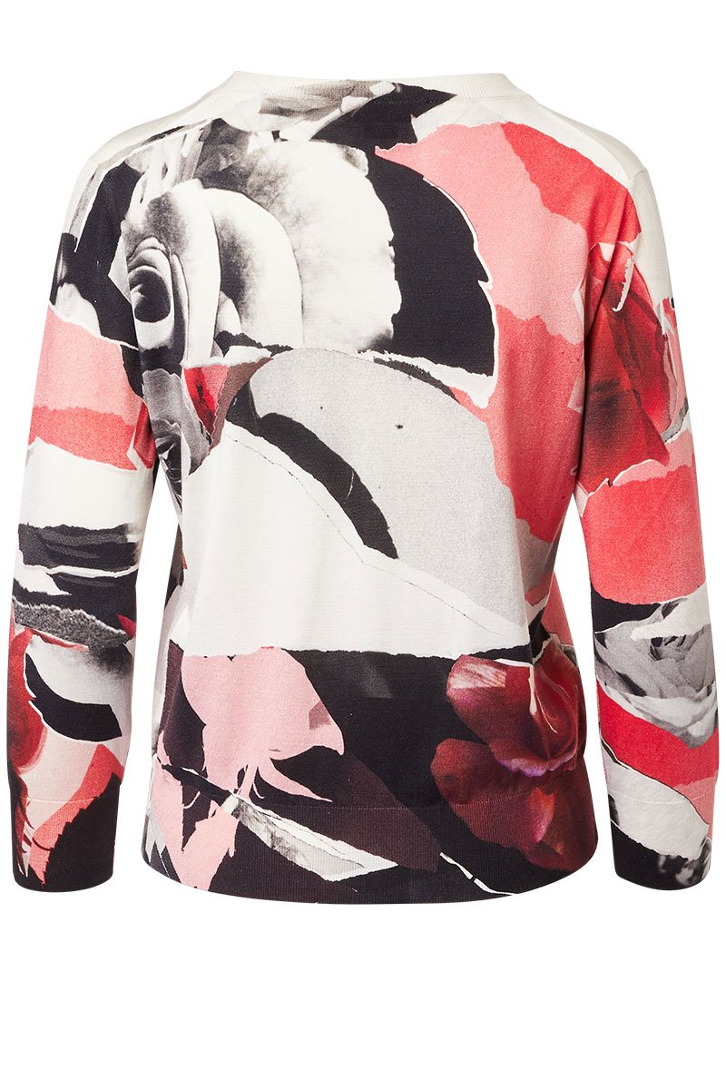 Alexander McQueen, Torn Rose Sweater