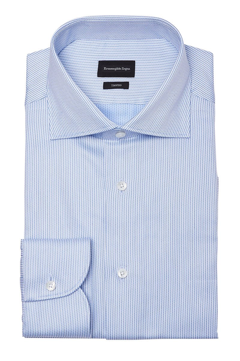 Ermenegildo Zegna, Trofeo Striped Dress Shirt