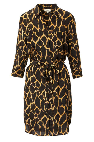 L'AGENCE, Stella Safari Shirt Dress