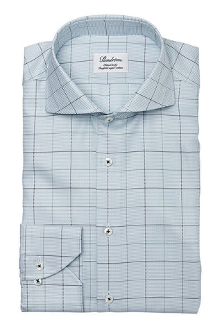 Stenströms, Dashed Windowpane Sportshirt