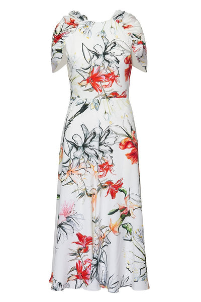 Alexander McQueen, Endangered Flower Cape Dress