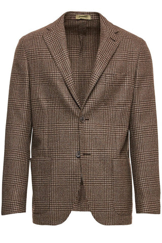 Prince of Wales Plaid Jacket